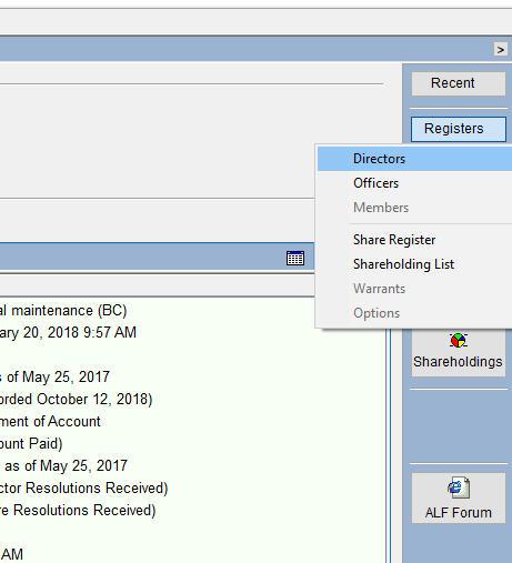 Assembling Registers